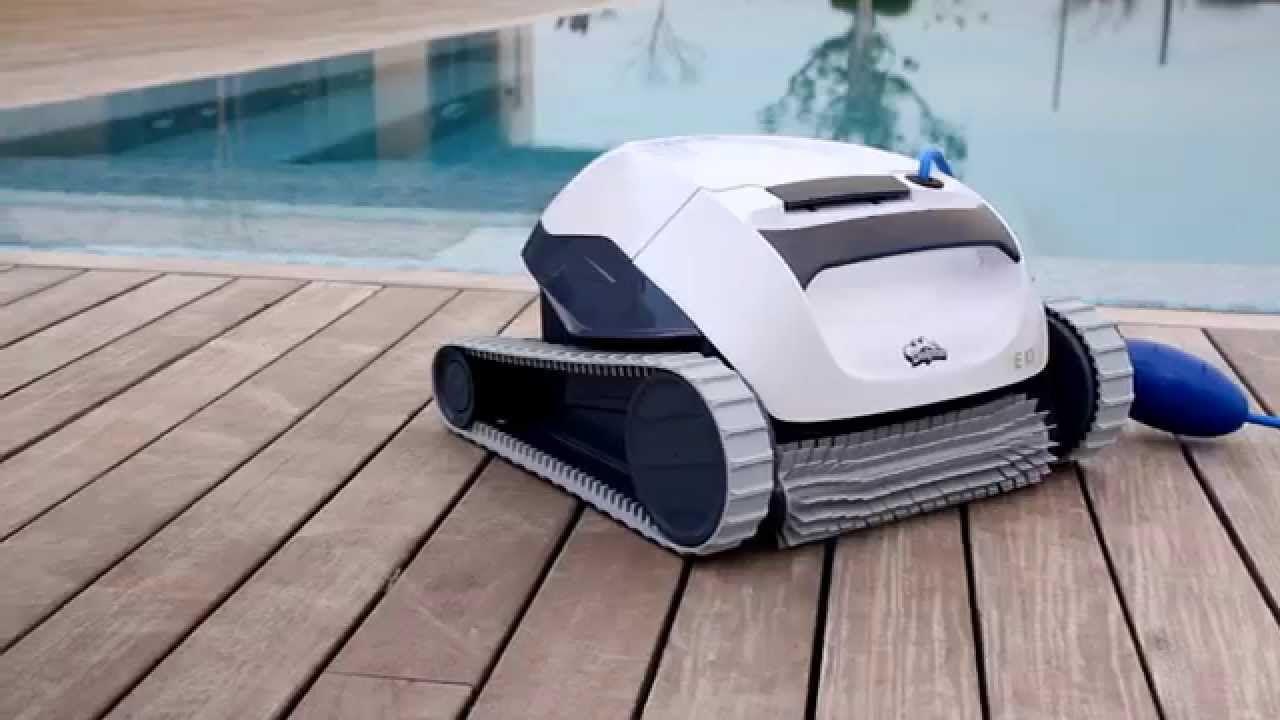 Test dolphin e10 test for Test robot piscine