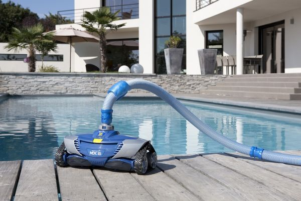 Test zodiac baracuda mx8 test for Robot pour piscine