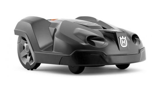 Robot Automower vu de profil